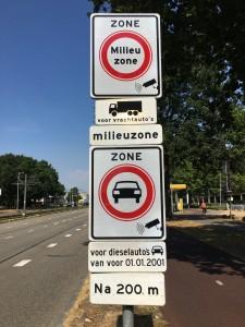 Stibbeblog FAQ milieuzones Herkenbaarheid verkeersbord milieuzone gemeente Utrecht